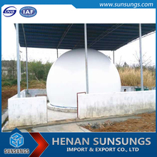 10000M3 Pvc Biogas Storage Digester Tank and Biogas Desulfurization system