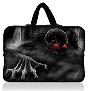 "Skull 17"" 17.3"" 17.4"" 17.5 Laptop Carrying Case Cover Bag Sleeve Protector For 17.3"" 17.4"" HP Pavilion Dell Asus Toshiba Acer, 17.1"" 17.3"" Laptop,17.3"" Apple Macbook Dell HP Toshiba ASUS,Genuine HP HP700 Portable,17.3"" Notebook Dell Inspiron 1750 17R HP17.3"" HP Pavilion DV7 E17 G7 G71 G72,17.3"""