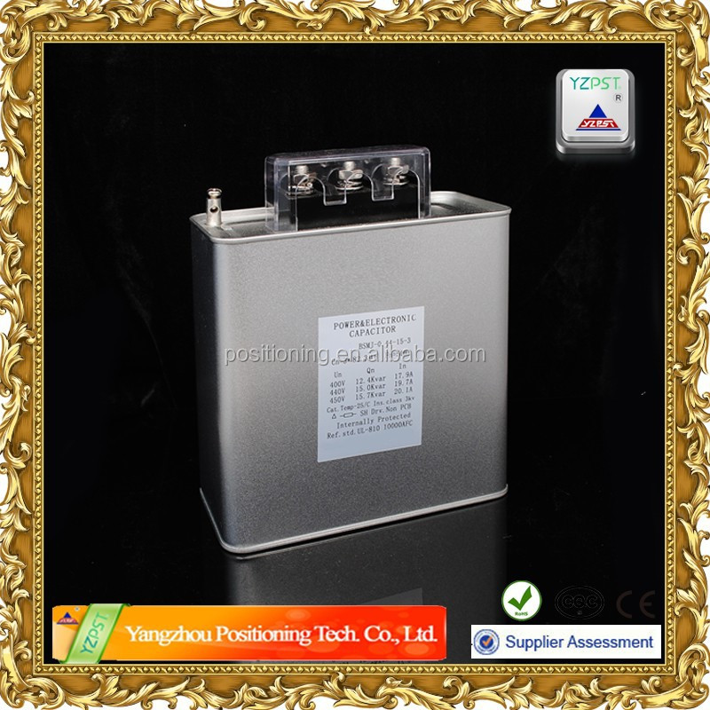 Used to improving the cos in the Low voltage AC system Capacitor, General electric power capacitor
