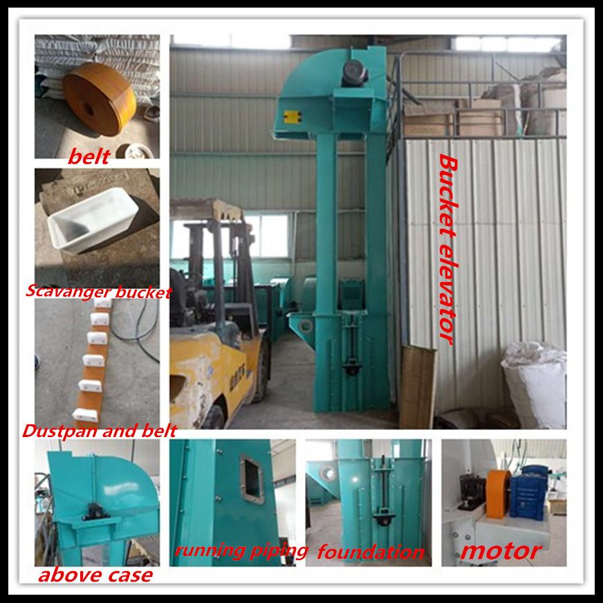 Loại mới sản xuất xô thang máy thang máy băng tải máy cho xi măng/hạt/quặng