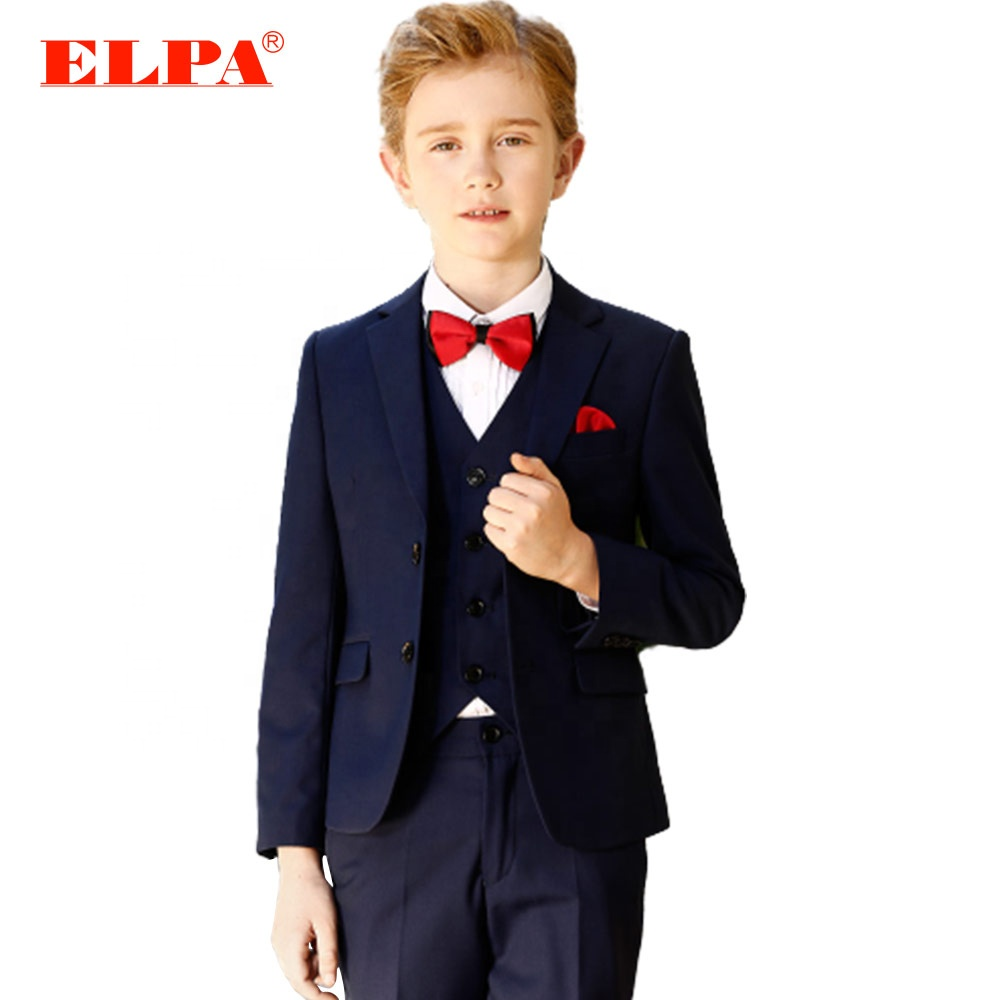 ELPA readymade junior jongen jurk past set jongens formele gelegenheid wear suits voor wedding