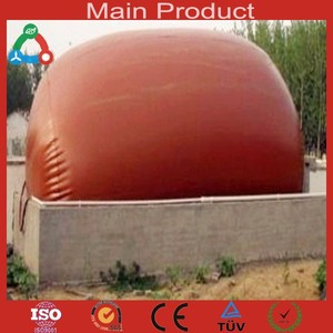 Easy construction portable mini home biogas digester plant