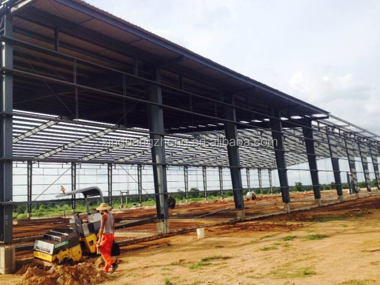 China Cheap Light Steel Prefabricated Structure Engineering & Building Projects
