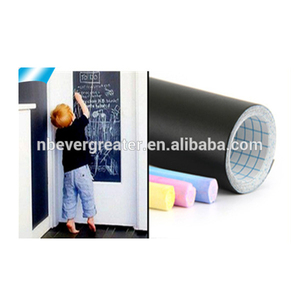 Extra Large Chalkboard Decal Wall Sticker/5 Colored Chalk Included - Blackboard