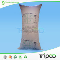 Tripod Kraft Paper Recycle Materials Cargo Container Dunnage Air Bag