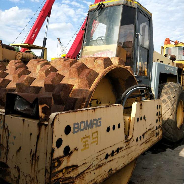 Used road roller BOMAG BW219PD-2 /secondhand BOMAG BW 219 road Rollers