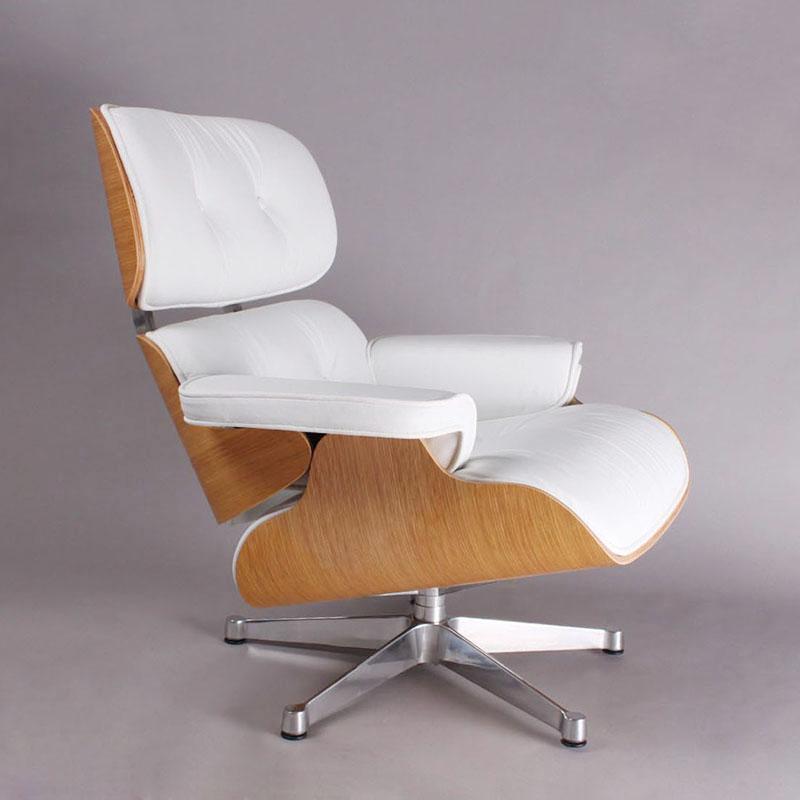 ch058 charles lounge stoel en ottoman in woonkamer-houten stoelen, Deco ideeën