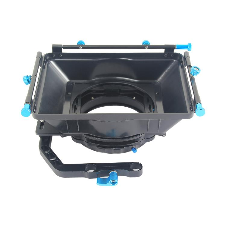 YELANGU Hot Sale Matte Box M2 Support Follow Focus With 15mm Rail Rod For Canon D3100 D7000 D700 1diii 60d 5dii