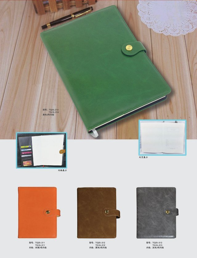 notebook kulit & berjajar jurnal kosong buku catatan
