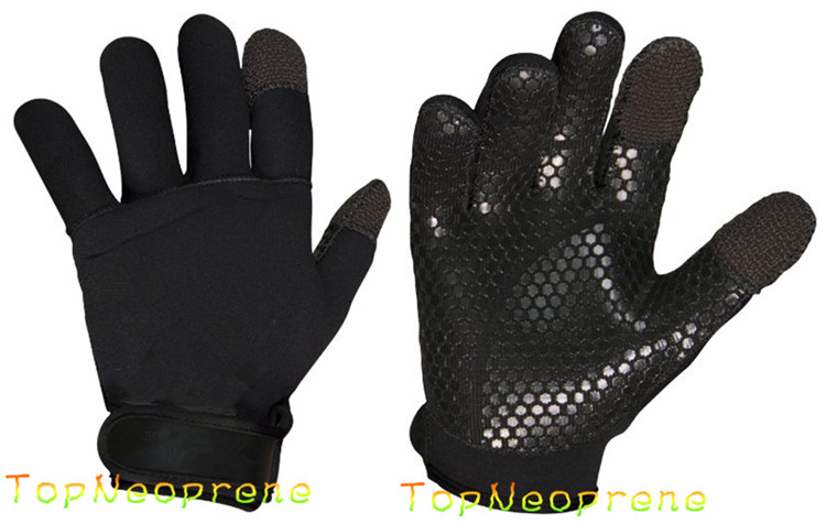 Hands Protective Sports Neoprene Fishing Gloves