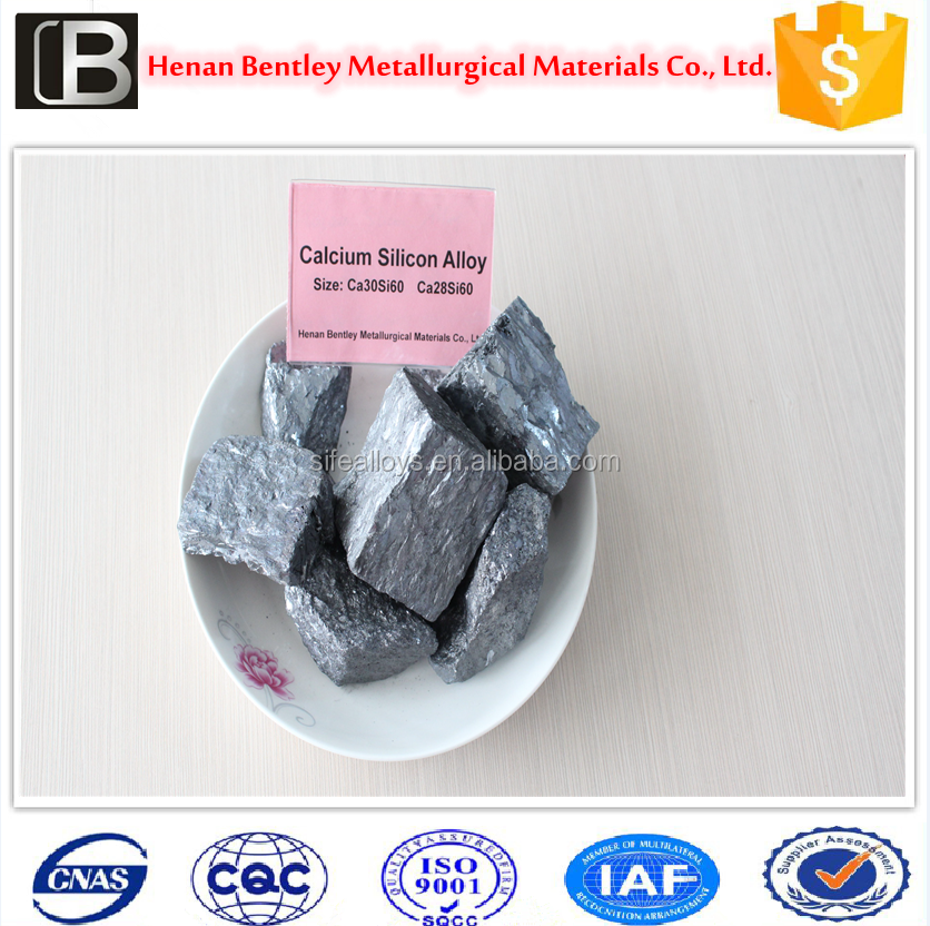 Natural SiCa lump used for casting plant