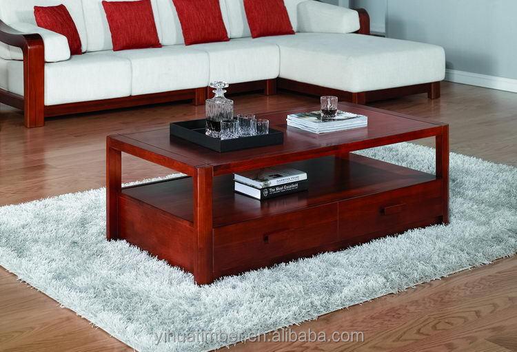 Muebles del salón sala de sofá de madera de alta calidad suave ...