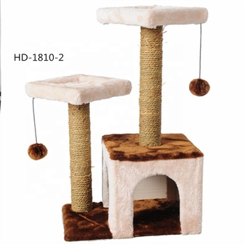 Ibetter Small style Cat tree house / cat scratcher post