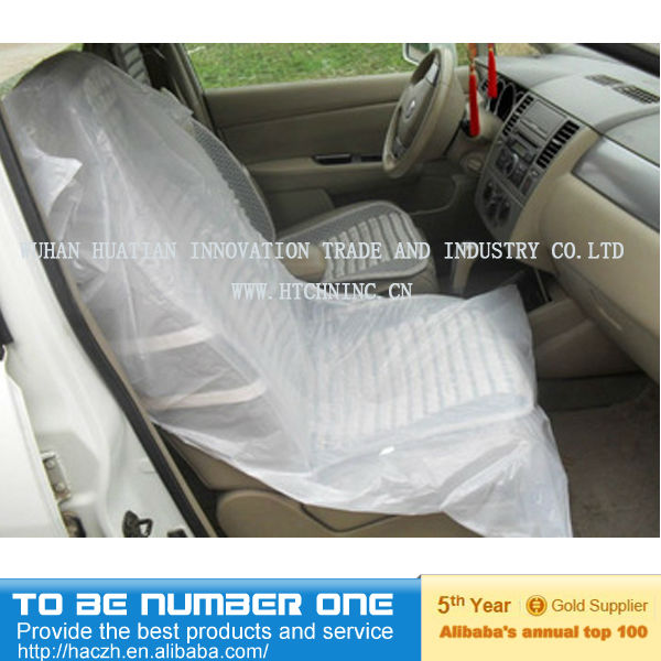Disposable Plastic Car Seat CoversDisposable Covers