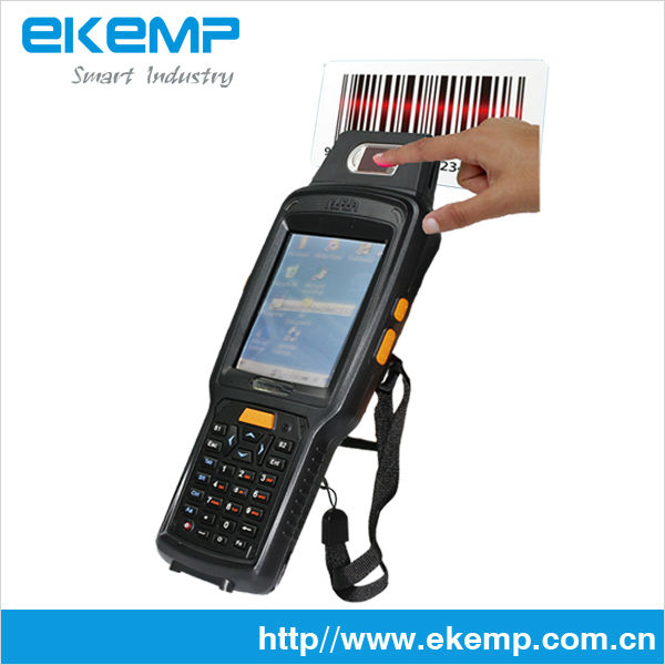 EKEMP Handheld Android and Wince PDA Machine Support 2D Barcode Scanner and WIFI X6