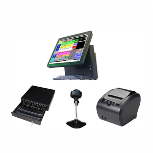 Wholesale cheaper 15 inch all in one desktop computer touch pos systems