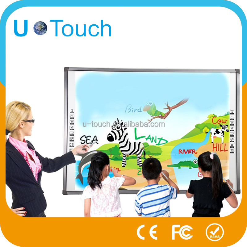 Smart klasse 82 inch elektronische interactieve white board