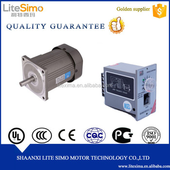 Micro Ac Induction Motor 110v/120v 180w 1.5a With Speed Controller ...