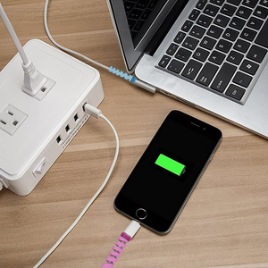 Cheap Promotion Gift Phone Charger Rubber USB Cable Protector for iPhone