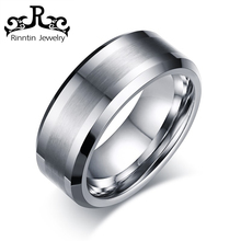RITR115 Stainless Steel Ring Blank Settings Without Stone Silver Jewelry Silver