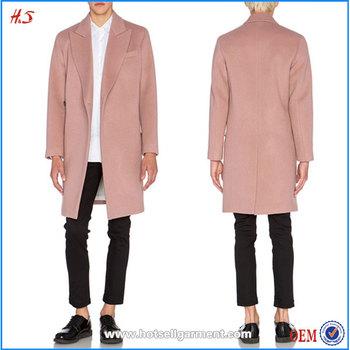 Dongguan Hot Sale Wholesale Custom Men's Wool Coat Fashion Design ...