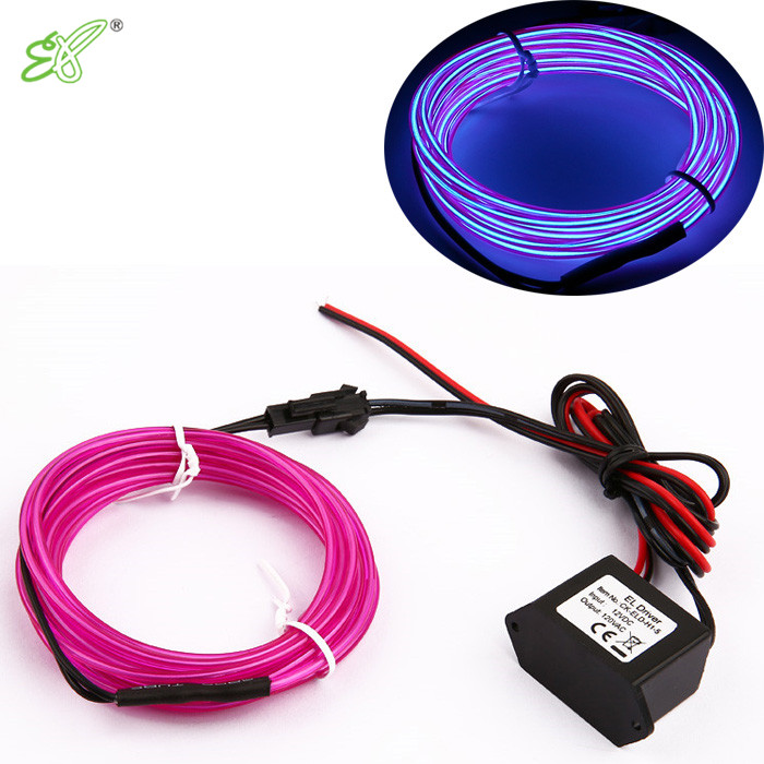 Event & Party Trend Mark 10 Colors Available 3.2mm 3meters Electroluminescent Party Decorative El Wire Flexible Neon Light Powered By 2-aa Batteries
