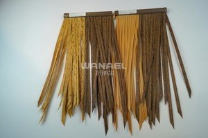 Garden Hut Plastic Artificial Thatch Roofing Materials Windbreak Palmex Thatch