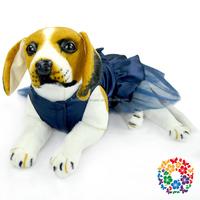 Newest Design For dog clothing , Tulle Hem-Line factory dog clothing , Posh Chiffon Pet Dog Tutu Dress Pet Clothing