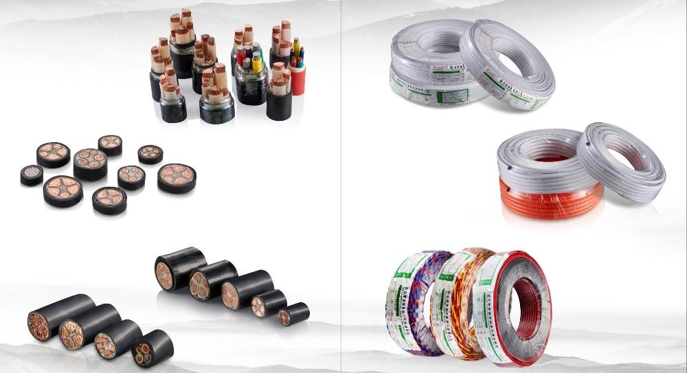 Verschiedene Arten Von Elektrischen Draht Und Kabel 16mm 10mm ...
