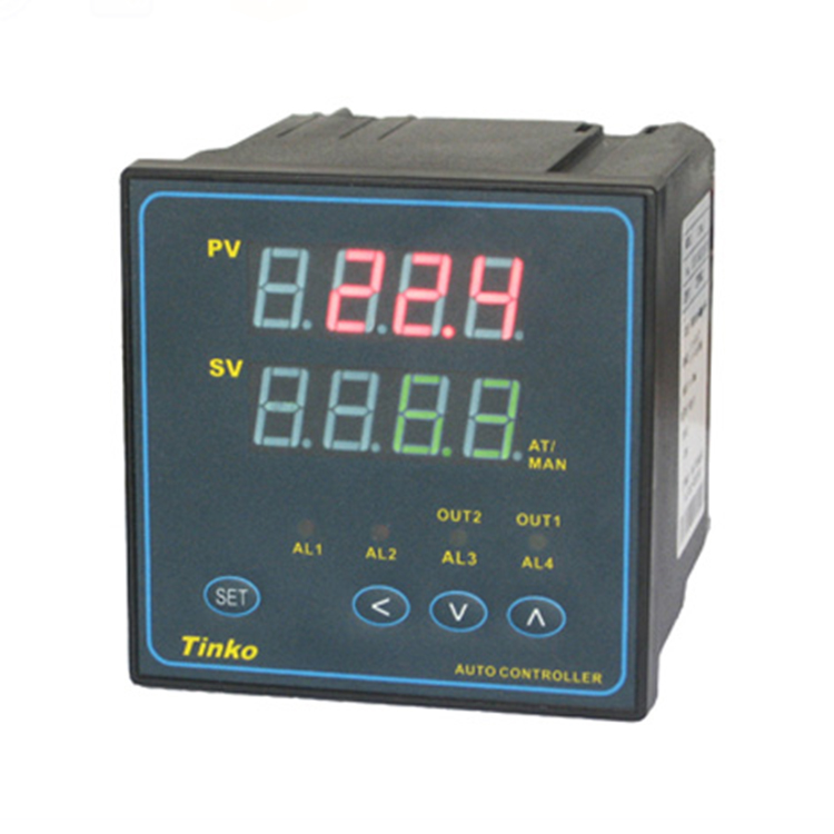 Plastic injection mold 96*96 universal input Dual lines 4-digital led pid analogue thermoregulator temperature controller