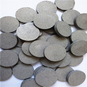 Porous metal SS Stainless Steel 304 316L Sintered Disc Filters
