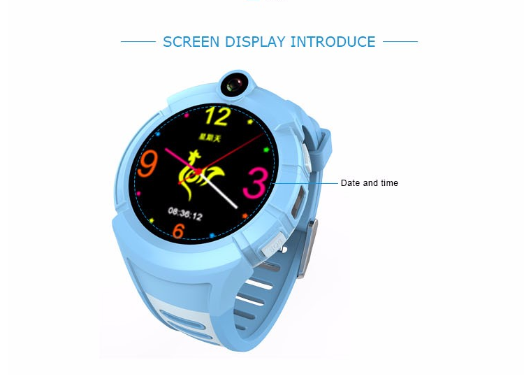 Factory sports running watch gps tracker HD camera smart watches q610 with sim for kids baby children