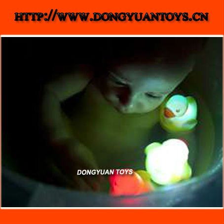 Glow LED Baby Bath Toy