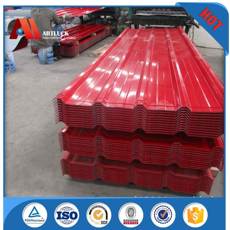 Chauffage isolation galvanis t le d 39 acier ondul e pour le toit acier id - Isolation tole ondulee ...