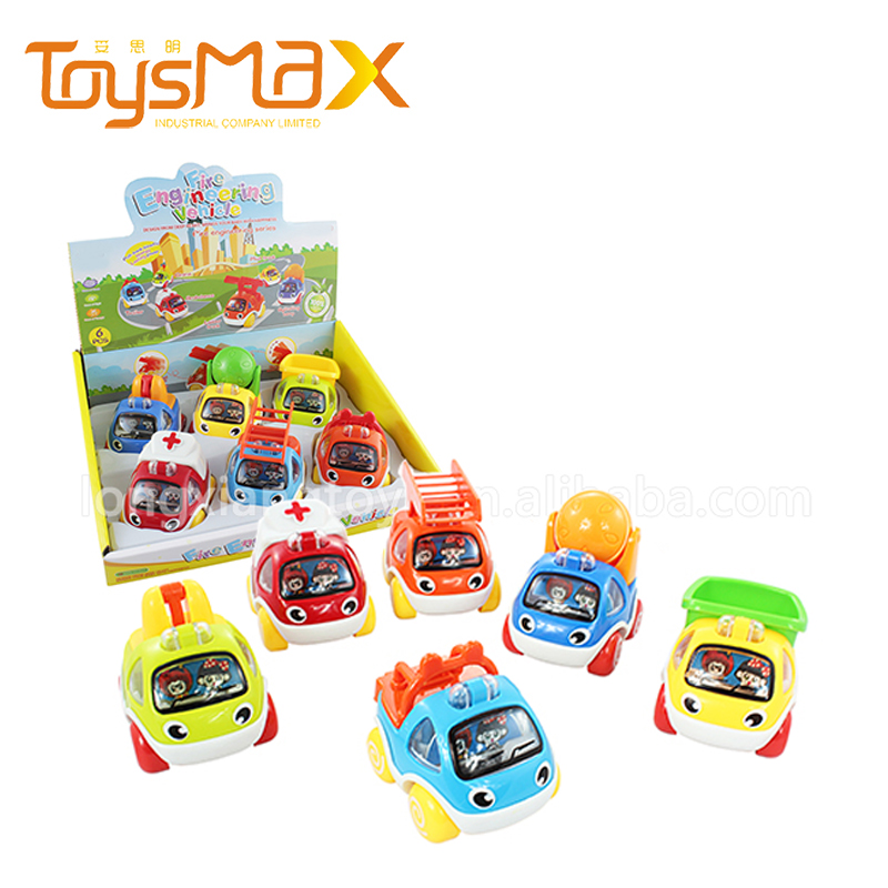 New wholesale delivery motorcade cartoon car wind up toy for sale