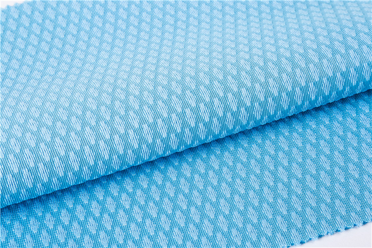 professional custom design comfortable positive ion mesh fabric