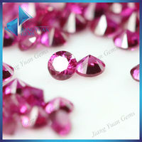 Oxide mineral round brilliant cut 5# ruby 1 carat price
