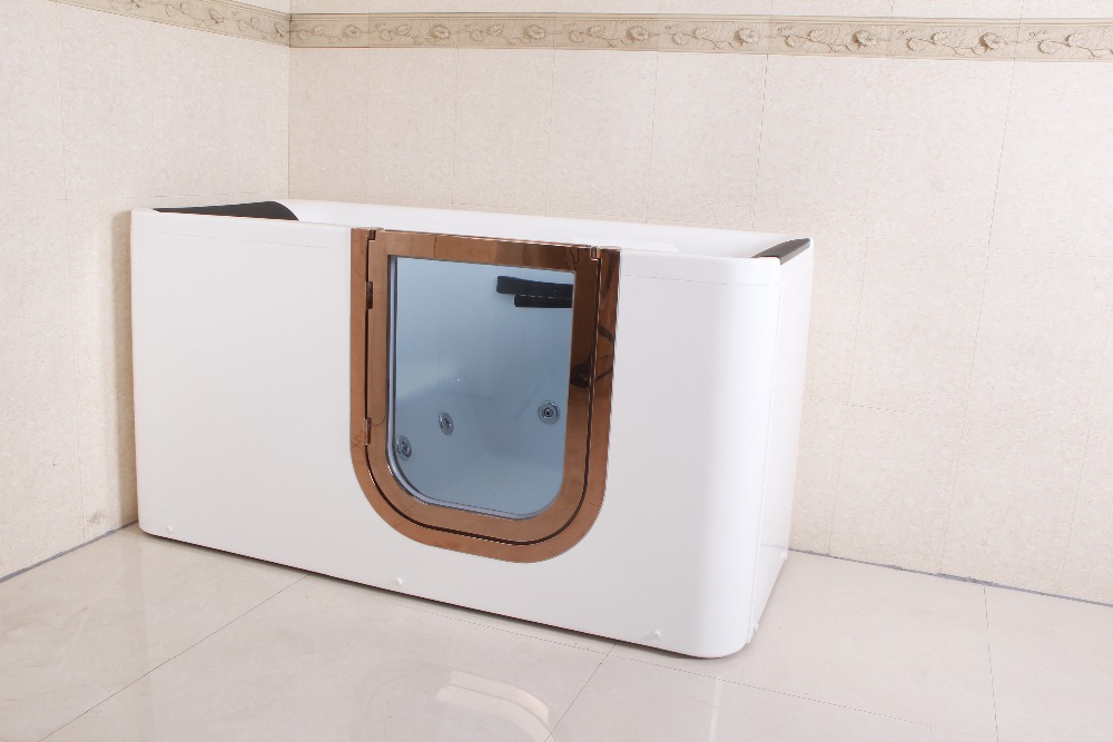 Hs-b1305t 1.65m Length Walk In Bathtub Corner,Walk In Shower Tub ...