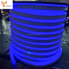 LED Neon Light LED Neon Flex Silicone DC12V 24V LED Flexible Strip Tube Light Outdoor Decoration waterproof