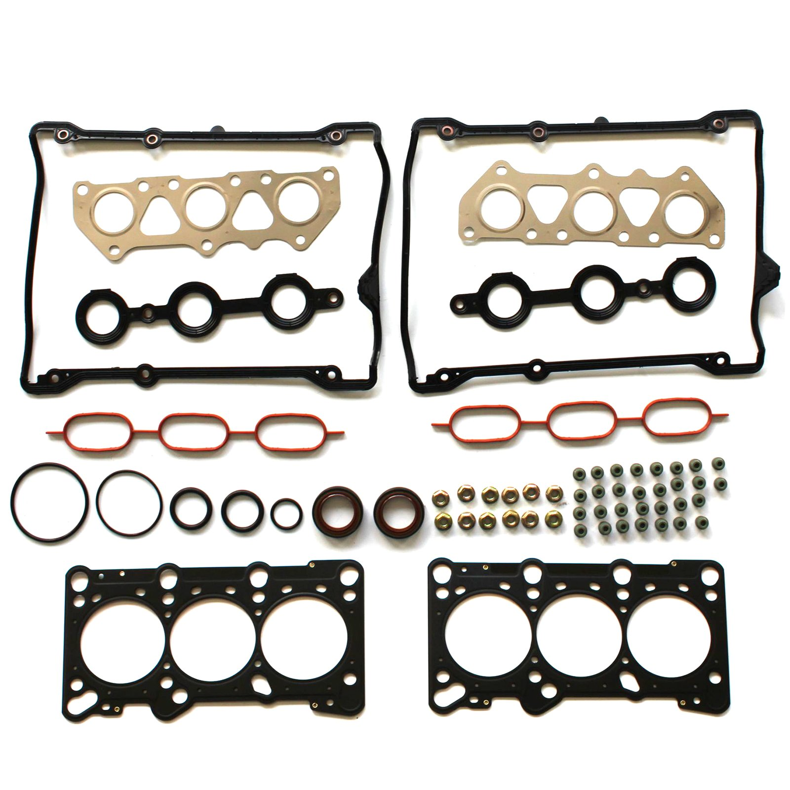 ECCPP Head Gasket Set Automotive Replacement Engine Head Gasket for 1998-2005 Audi A4 A6 Quattro Volkswagen Passat 2.8 DOHC AHA ATQ