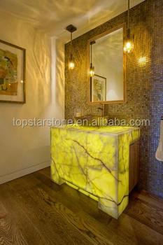 Backlit Yellow Onyx Vanity Top Buy Backlit Yellow Onyx Vanity Top - Onyx bathroom vanity tops