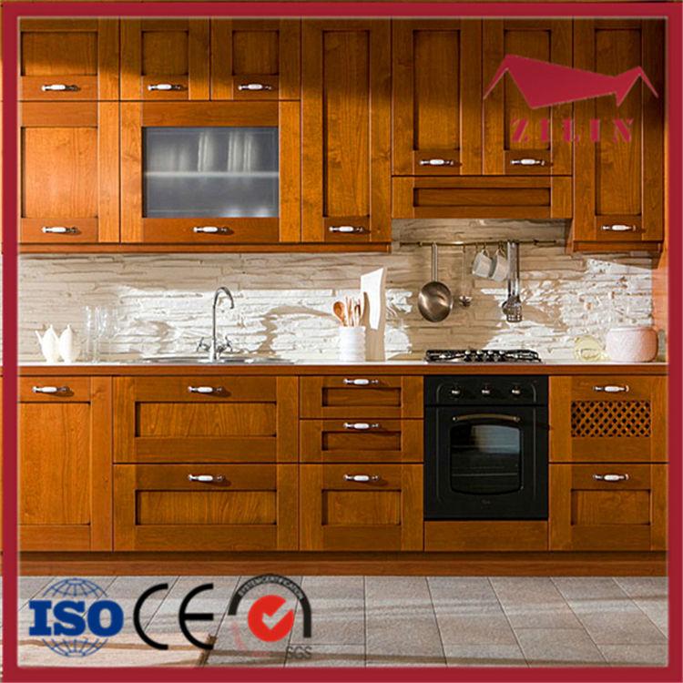 Good Quality Kitchen Cabinets: Alta Qualidade Em Madeira Maciça Armários De Cozinha