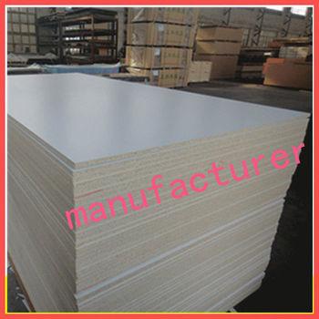 Wholesale white melamine laminated particle board for Particle board laminate finish