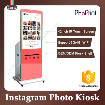 Unique Business Ideas Trade Show Social Instant Kiosk Photo Props Booth  Kiosk Mall - Buy Kiosk Mall,Photo Props Booth,Wifi Photo Booth Product on