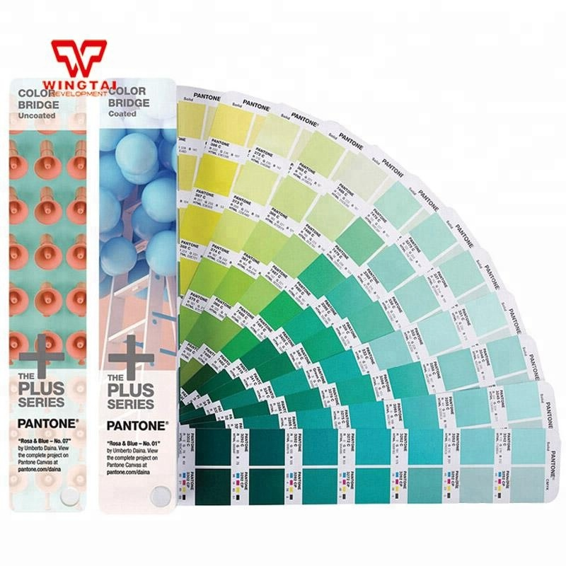 2016 recentemente PANTONE COLOR BRIDGE CMYK C/U Set GP6102N