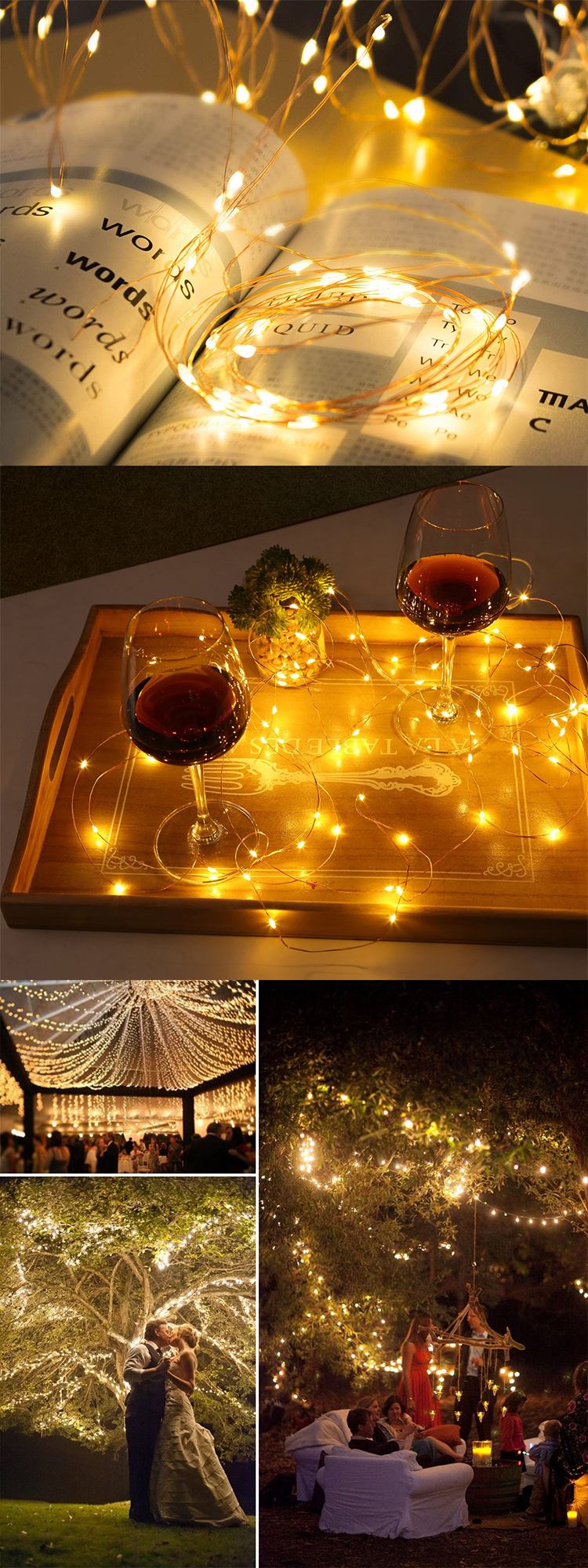 Wedding Party Supplies New Product Ideas Copper Wire Led Light Up Wine Bottle For Party Home Decor