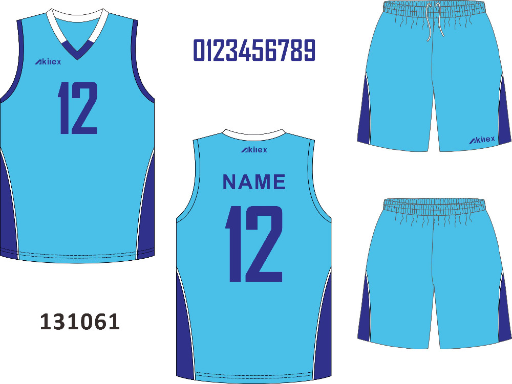 3937353be55 Latest Blue Healthy Basketball Jersey/ Uniforms Design - Buy Latest ...