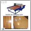 Hot press adhesive film for wood board