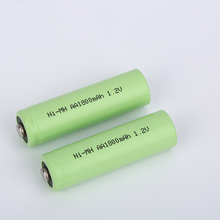 High capacity and long cycle life 1800mAh 1.2v aa rechargeable batteries