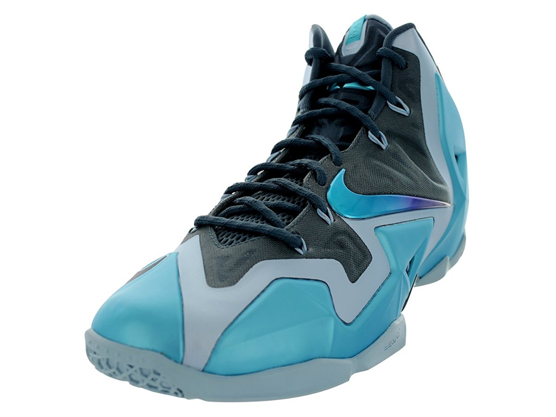 reputable site d4471 97f20 Get Quotations · Nike Lebron XI (Gamma Blue) Armry Slate Gamma Blue-Lt  Armry Bl